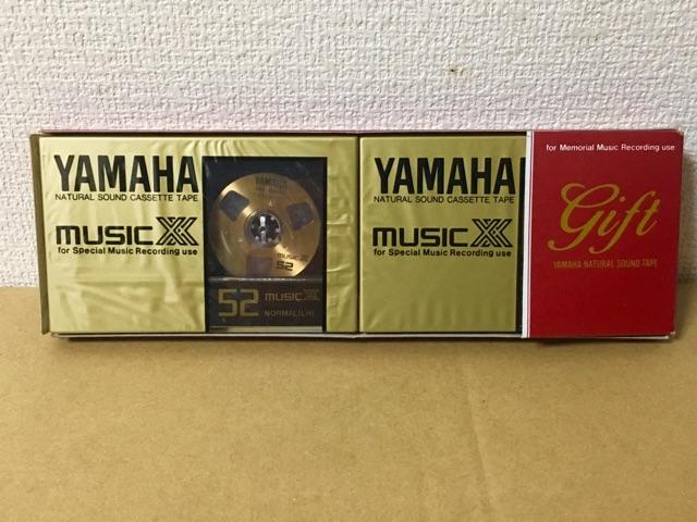 YAMAHA MUSIC XX 52 ヤマハ カセットテープ オープンリール