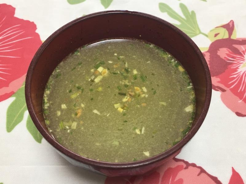 サッポロ一番冷やし塩ラーメン スープ