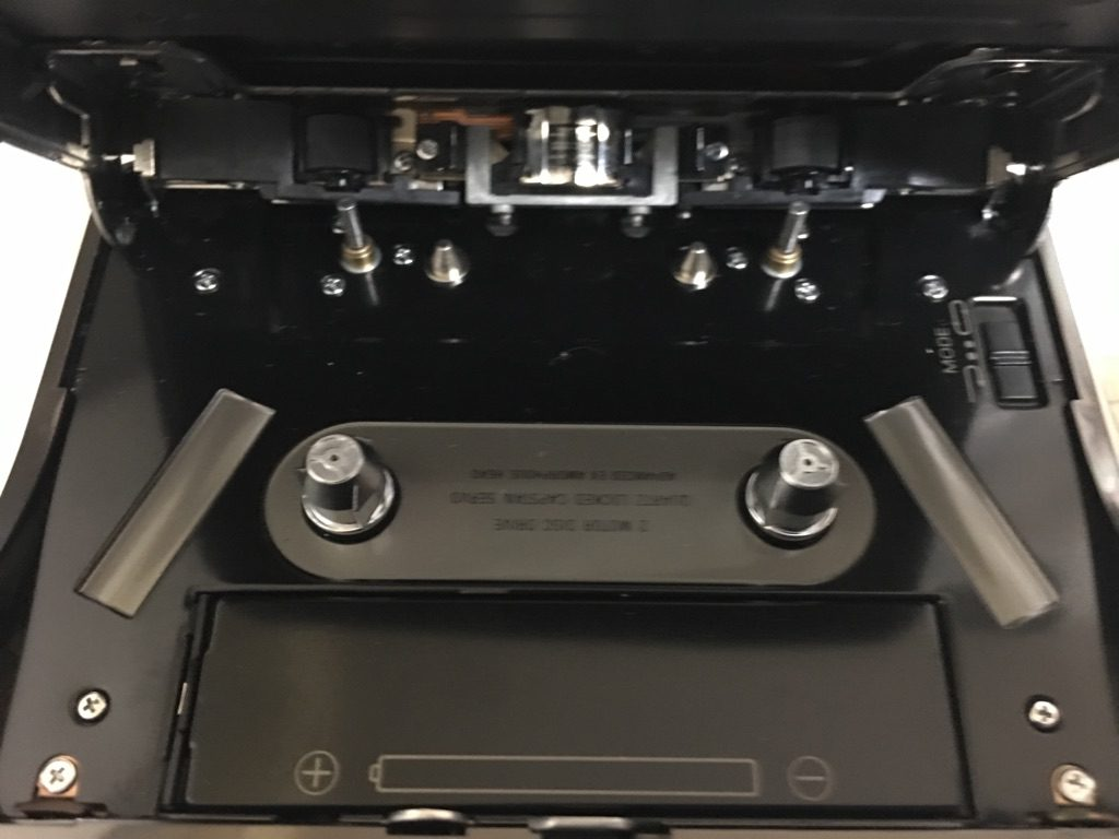 SONY Walkman WM-DD9 カセットウォークマン 内部
