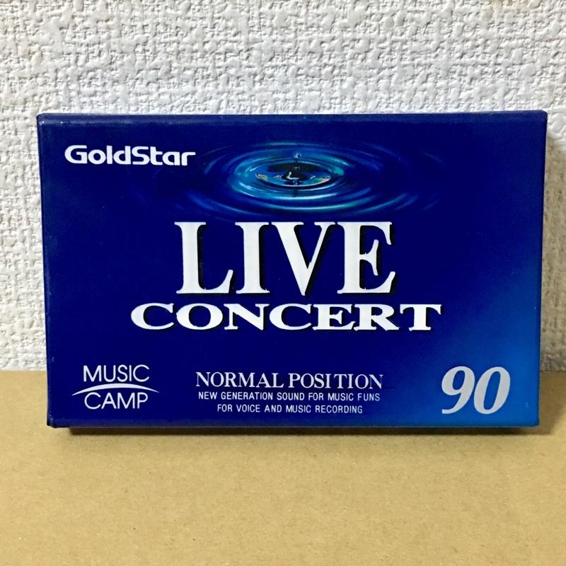 Goldstar LIVE CONCERT 90 カセットテープ