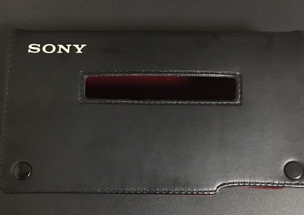 SONY WM-D6C キャリングケース
