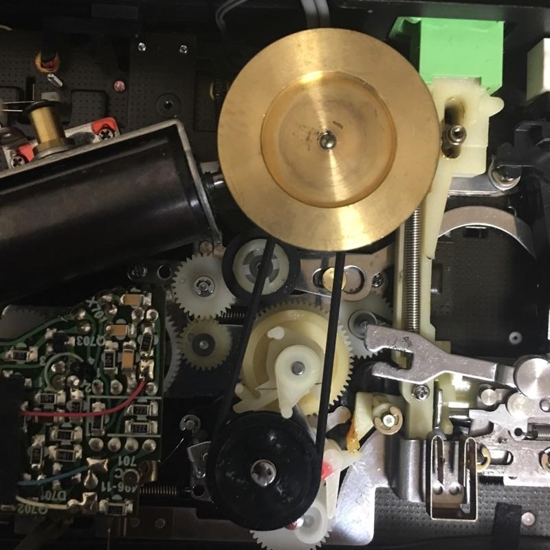 SONY WM-D6Cのベルト交換