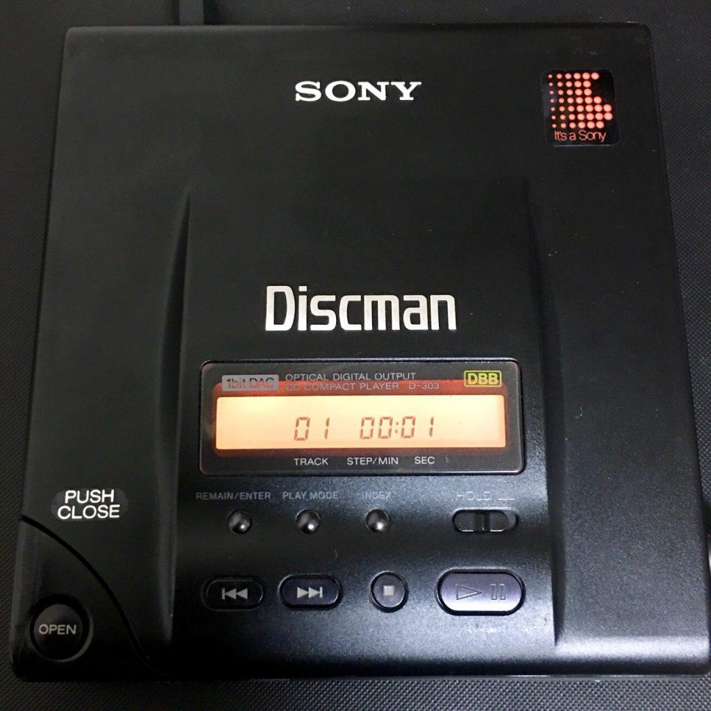 SONY DISCMAN D-303