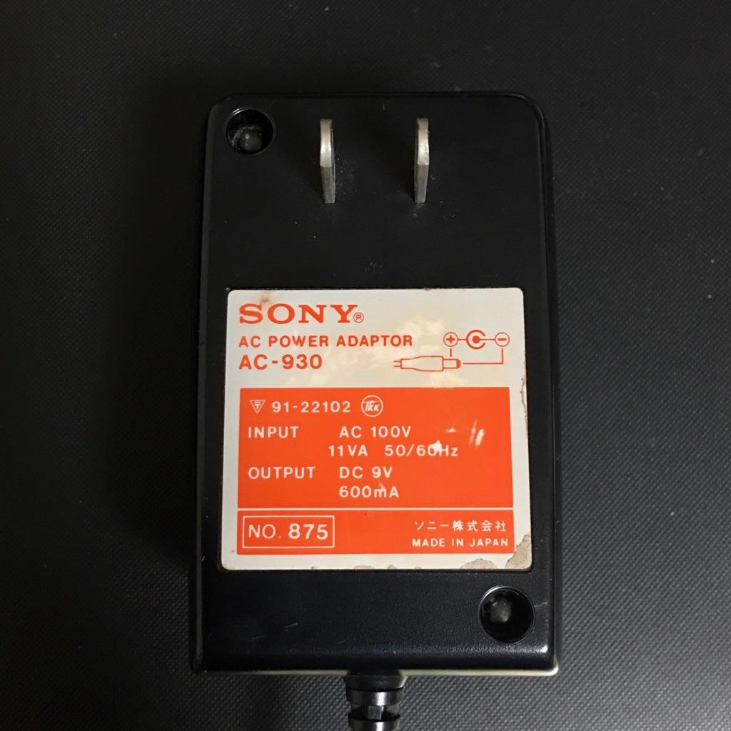 SONY AC-930