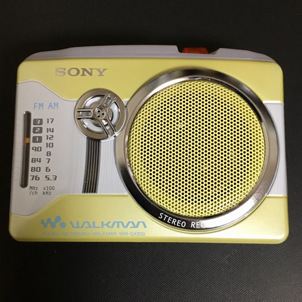 SONY WM-GX200