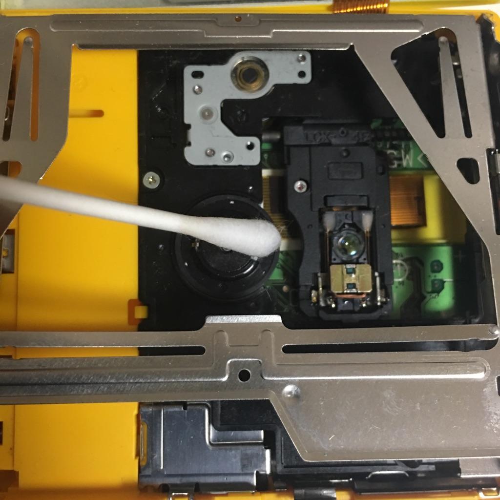 MZ-E606Wの内部