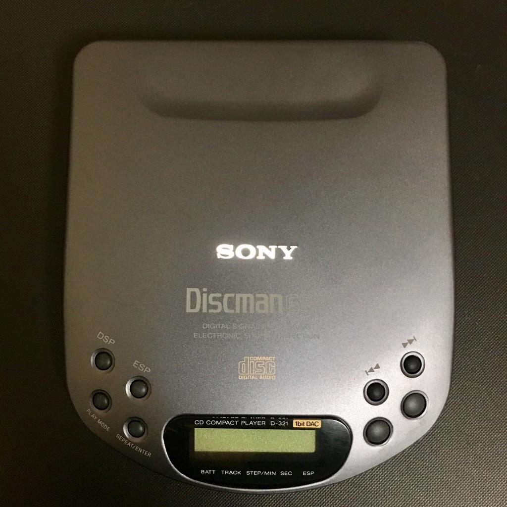 SONY D-321 ディスクマン