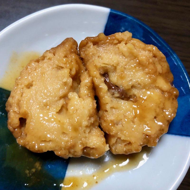 mr.kanso たこやき缶詰のたこ焼きの半分