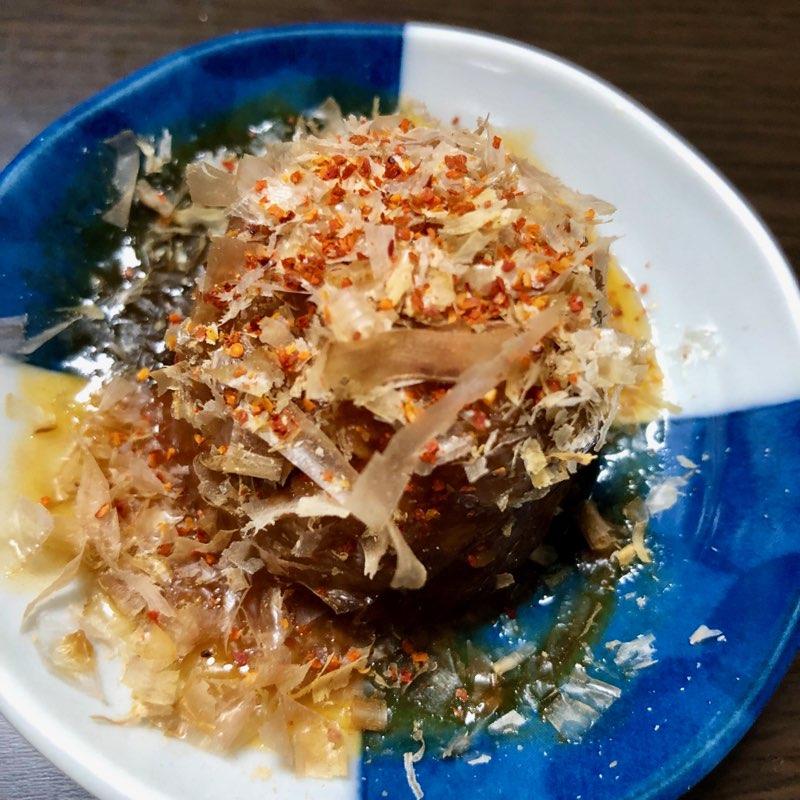 mr.kanso たこやき缶詰のたこ焼にかつお節と一味